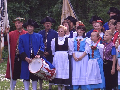 Halloren in Festtracht © Dundak